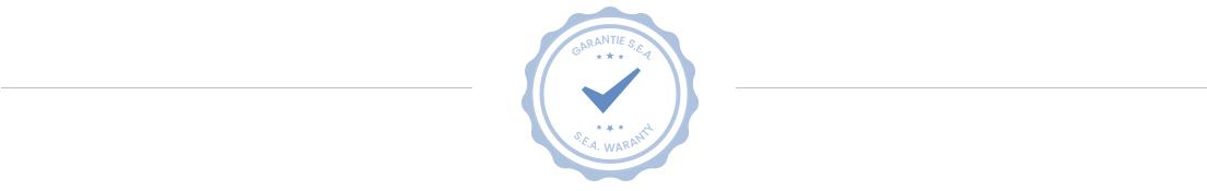 Waranty seal - Conteneur Sea