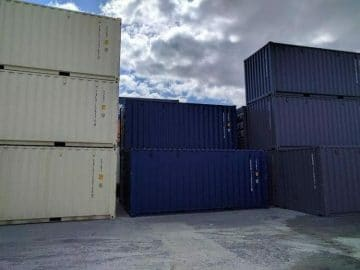 Reasons for decline in availability of shipping containers