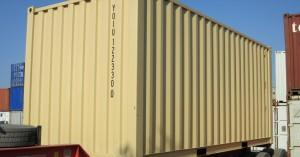 containers 40 et 20 cour