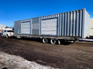 conteneur High Cube avec deux portes
